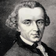 German philosopher Immaneul Kant; 1724 - 1804
